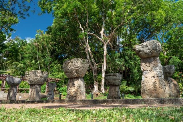 關島拉提石公園