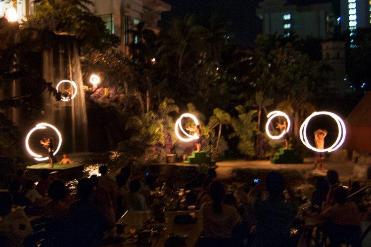 關島太平洋島渡假村晚宴秀
